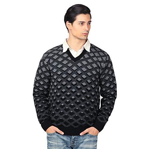 aarbee Men's Blended V-Neck Sweater