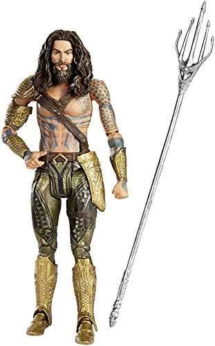 Mattel DNG58 Batman Verses Superman Movie Collector Aquaman Figur, 15 cm