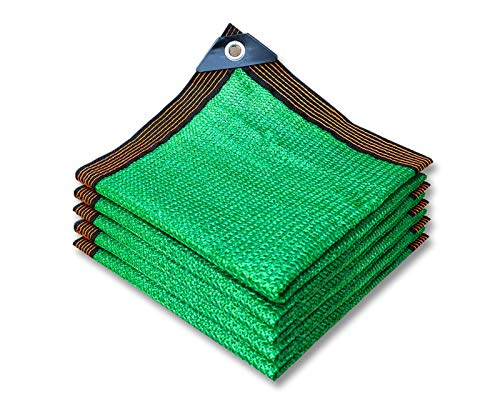 Schattiernetz Schattierungsnetz Grünes Schattentuch Gewächshaus Schatten,Sonnenschutz Netz UV Schutz,für Garten Blumen Pflanze Carports,2x3m 3x4m 3x5m 4x6m 5x7m 6x8m 6x10m 9x9m
