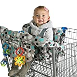 MJYK Baby Shopping Cart Cover, Cushy Baby Hammock for Shopping Cart and High Chair Cover, Shopping Cart Covers...