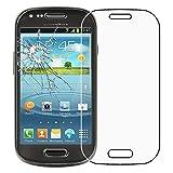 ebestStar - Cristal Templado Compatible con Samsung S3 Mini Galaxy GT-i8190, i8190N Protector de Pantalla, Película Vidrio Dureza 9H, Sin-Burbujas [Aparato: 121.6 x 63 x 9.9mm 4.0']