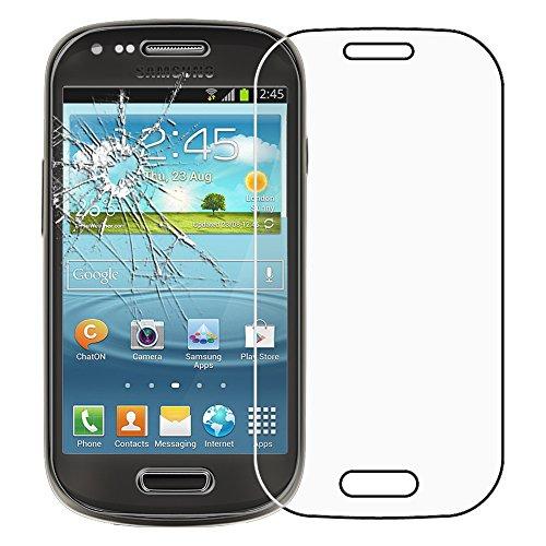 ebestStar - Vetro Temperato Compatibile con Samsung S3 Mini Galaxy GT-i8190, i8190N Protezione Schermo Pellicola Anti Shock, Anti Rottura, Anti graffio [Apparecchio: 121.6 x 63 x 9.9mm, 4.0'']