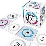 Radical-X - Pequeño juego de calculadora matemática y juego de mesa (regalo inteligente, juego de cartas para adolescentes, adultos y personas mayores)