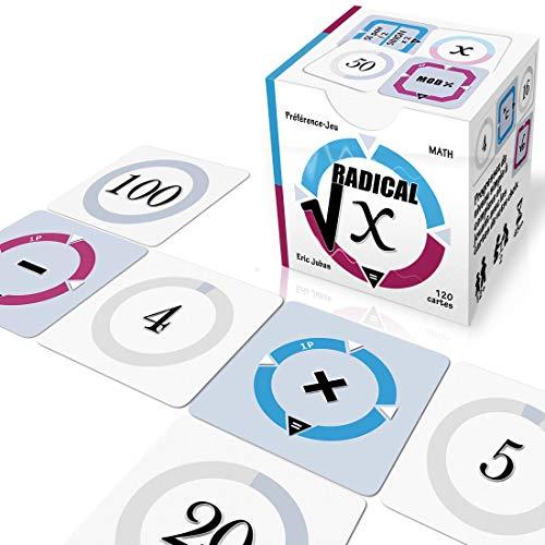Radical-X - Pequeño juego de calculadora matemática y juego de mesa (regalo...