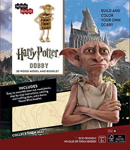Incredibuilds. Harry Potter. Dobby 3D Wood Model A: Dobby 3D Wood Model and Booklet