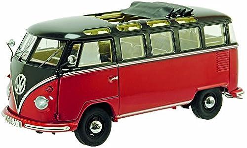 Schuco 450028400 - VW T1b Samba Ma ab 1 18, braun rot