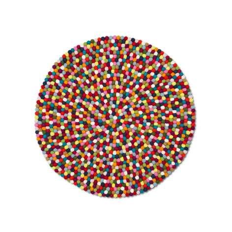 HAY Teppich Pinocchio Ø 140 cm, Multi-Colour
