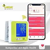 Misuratore Pressione Bluetooth Sharon, MEDICAMENTE Approvato (CE0123) - Sfigmomanometro Digitale...