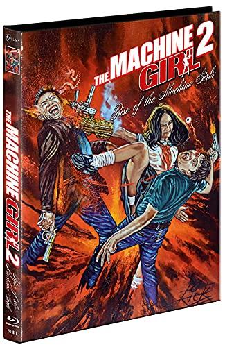 The Machine Girl 2 - Mediabook - Cover B - Uncut - limitiert und nummeriert auf 555 Stück (+ DVD) [Blu-ray]