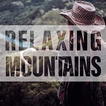 Relaxing Mountains - River, Storm, Birds, Mountains, Night Forest, Water Waves, Wind