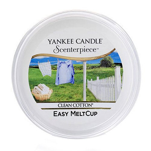 Yankee Candle Scenterpiece Melt Cups, Cotone Pulito