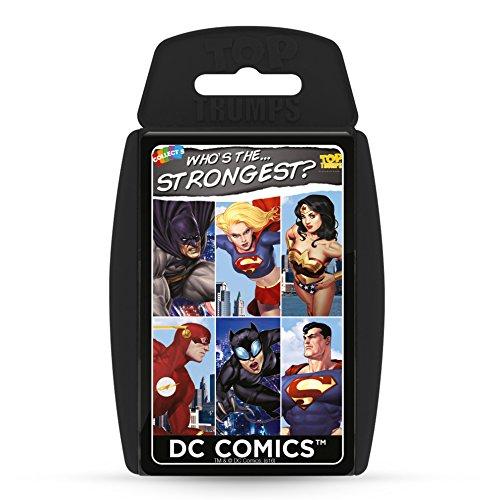 Unbekannt 017978 DC Comics Top Trumps Card Game (Random Supply)