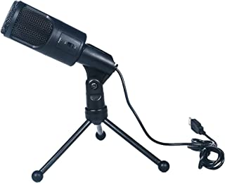 KOET USB Microphone,Fifine Metal Condenser Recording Microphone for Laptop or Windows Cardioid Studio Recording Vocals, Voice Overs,Streaming Broadcast and YouTube Videos