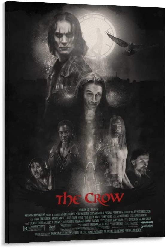 great The Mesa Mall Crow Horror shopping Movie Decorative Painting Canva Poster 2