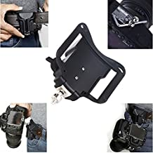 Prost Fast Loading Camera Hard Plastic Holster Waist Belt Quick Strap Buckle Button Mount Clip for Dslr Cameras Canon 70d 60d T5i 400d 500d Etc.