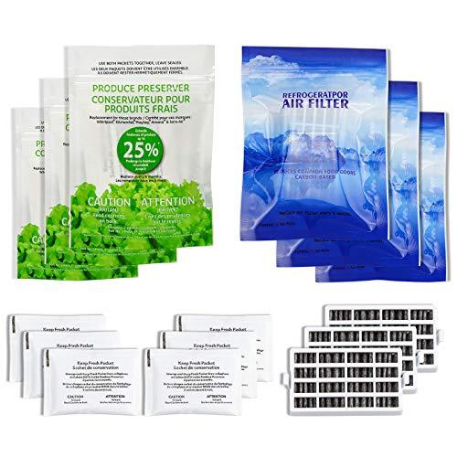 AMI PARTS W10311524 Air Filter &W10346771A Produce Preserver...