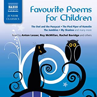 Favorite Poems for Children                   By:                                                                                                                                 Lewis Carroll,                                                                                        James Reeves,                                                                                        Oliver Herford,                   and others                          Narrated by:                                                                                                                                 Katinka Wolf                      Length: 1 hr and 13 mins     9 ratings     Overall 4.6