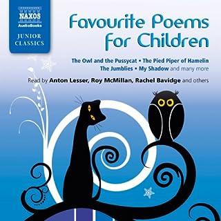 Favorite Poems for Children cover art