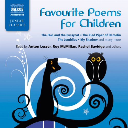 Favorite Poems for Children audiobook cover art