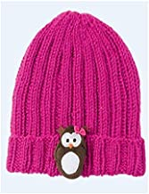 Schachenmayr Novedad. 80g Little Sweeties–Special Edition–Producto 036Rosa Owl de 1knäuel una Infantil Gorro con lustigem Animales de aufnähern