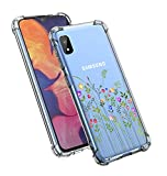 Starhemei for Galaxy A10E Case, TPU Gasbag Shock-Absorbing Flexible Protection Rubber Soft Silicone Drop-Proof Phone Case for Samsung Galaxy A10E (Grass)
