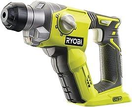 Ryobi R18SDS-0 rotary hammers - Martillo perforador (1,6 cm, 1,3 J, 5000 ppm, 1,3 cm, 1,6 cm, Negro, Verde)