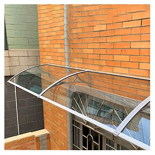 YF-Barstool Marquesina para Puertas y Ventanas 1Pcs Canopy Canopy Front Door, Patio Awnings Policarbonato Arched Cover Roofing Canopies