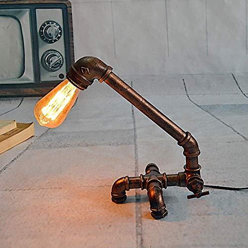 Lámparas artísticas del hierro industrial minimalista nórdico Lámpara decorativa lámpara decorativa Lámparas decorativas Cyber Cafe Bar 29 * 19 * 32 cm kshu
