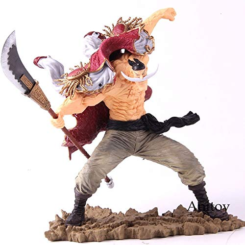 Yvonnezhang SC Edward Newgate 20. Figur One Piece Anime Figur One Piece Edward Newgate Whitebeard Actionfigur Sammlermodell Spielzeug, ohne Kleinkasten