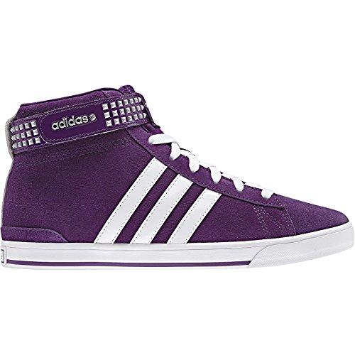 adidas Damen Bbneo Daily Twist Schuhe, VIOLA - BIANCO, 7.5