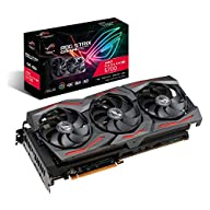 ASUS ROG Strix AMD Radeon RX 5700 Overclocked 8G GDDR6 HDMI DisplayPort Gaming Graphics Card (ROG-STRIX-RX5700-O8G…