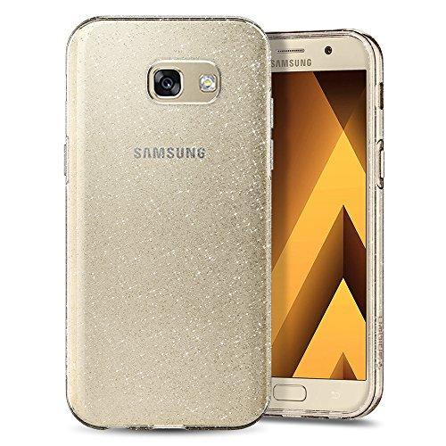 Spigen Cover Samsung Galaxy A3 2017 Liquid Crystal Glitter Progettato per Samsung Galaxy A3 2017 Cover - Crystal Quartz