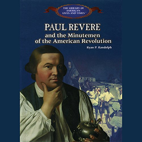 Paul Revere audiobook cover art