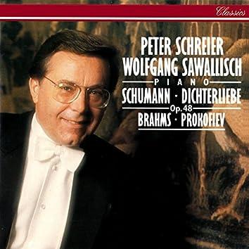Schumann: Dichterliebe / Prokofiev: 3 Children's Songs etc