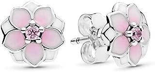 pandora magnolia earrings