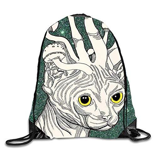 Fashion Drawstring Gym Pastel Tie Dye Drawstring Backpack Travel Rucksack Shoulder Bags Fashion Gym Bag