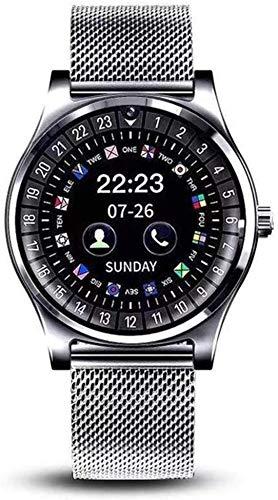 Qin~xiao Bluetooth Smart Uhren R69 Fitness Tracker-Farbbildschirm Smart Watch Armband Schlafüberwachung Sport-Uhrenarmband for Männer und Frauen Smartwatch Uhr für Männer Frauen Kinder (Color : B)