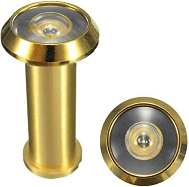Brass Home Security Tools 180 Degree Wide Angle Door Viewer Scopes Peepholes