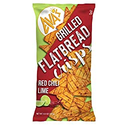 AVAS Red Chili Lime Grilled Crisps, 6.5 Oz