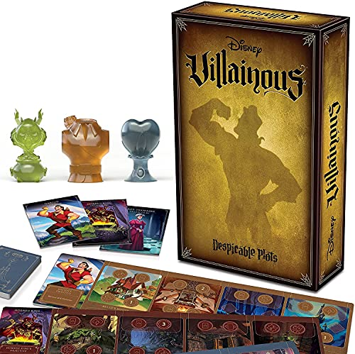 Ravensburger Disney Villainous Despicable Plots - Family Board Game for Adults and Kids Age 10 and Up - Play as Stand-Alone or Expansion to the Villainous Strategy Games
