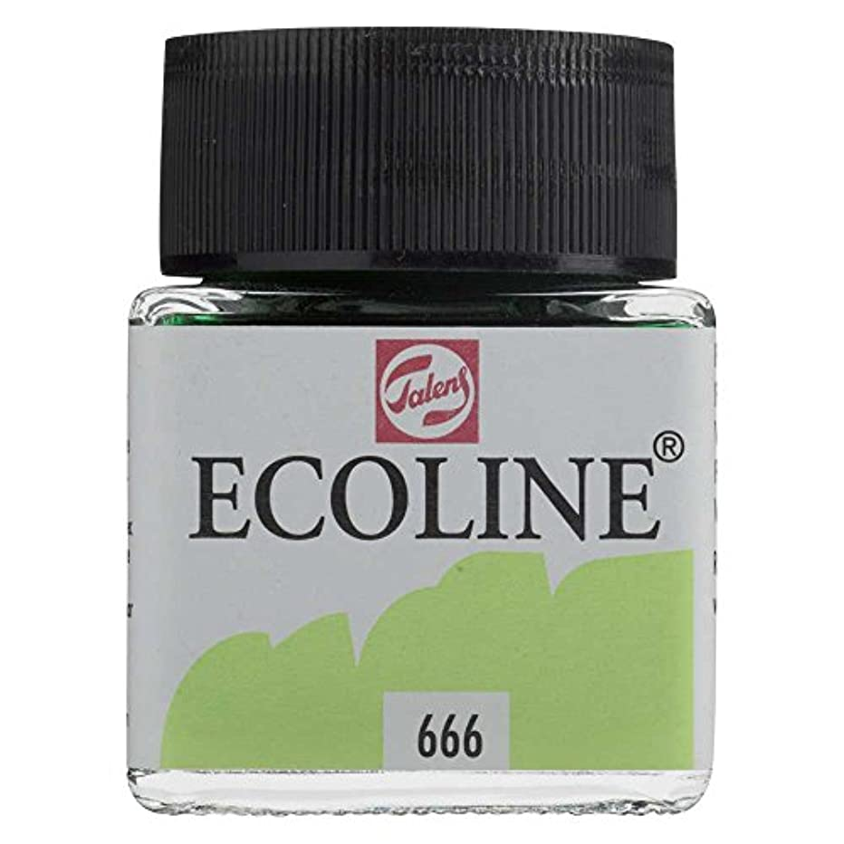 Royal Talens Ecoline Liquid Watercolor, 30ml Bottle, Pastel Green (11256660)