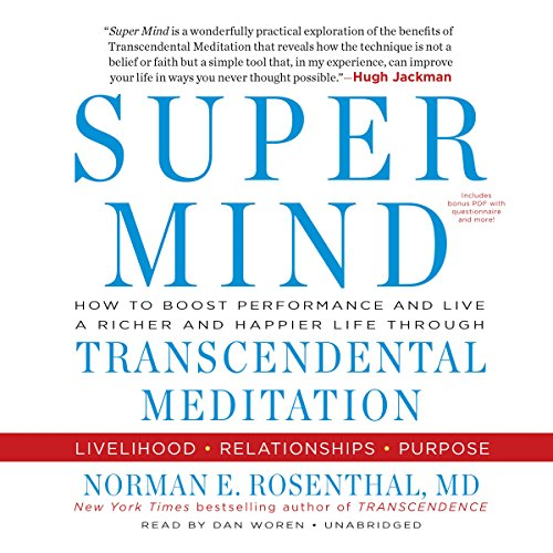 Super Mind audiobook cover art