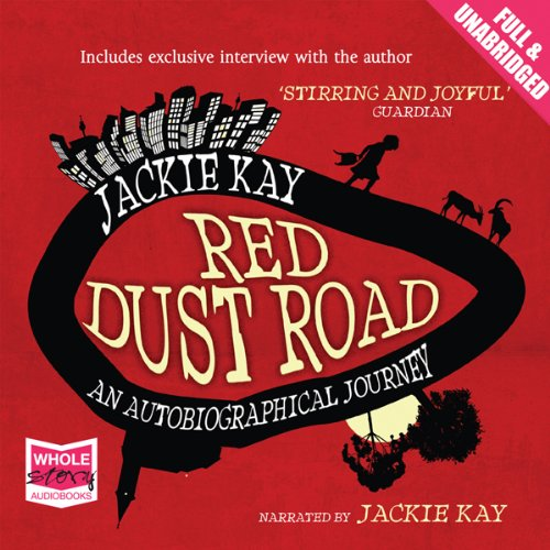 Red Dust Road audiobook cover art