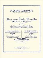 マキシム・アルフォンス: ホルンのための新しい200の練習曲集 第2巻/ルデュック社
