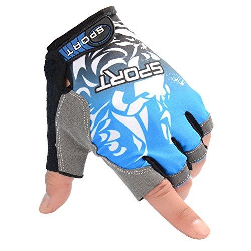 Vorcool UV-Schutzhandschuhe für Fischerei, rutschfest, für Fahrrad, Klettern, Angeln, Reiten Kajak Größe L