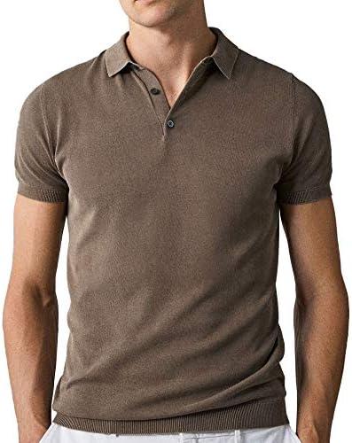 Massimo Dutti 0901/301 suéter de algodón Liso Estilo Polo ...