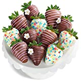 12 Piece Joy of Spring Chocolate Covered Strawberries
