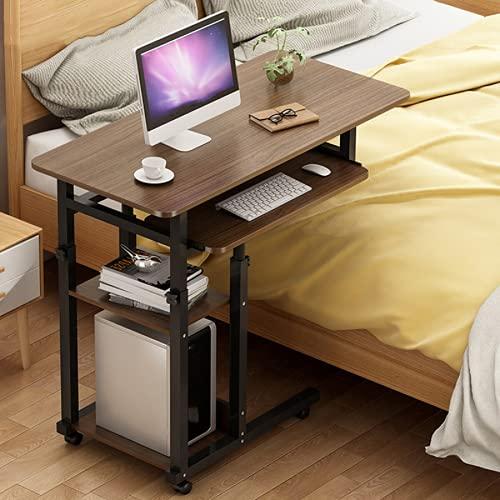 YIJIAHUI Mesa de escritorio de 4 capas para ordenador portátil, portátil, ajustable, portátil, portátil, portátil, mesa, sofá, cama, bandeja de escritura, estudio de escritorio, estaciones de trabajo
