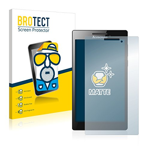 BROTECT 2X Entspiegelungs-Schutzfolie kompatibel mit Lenovo Tab 2 A7-20 Bildschirmschutz-Folie Matt, Anti-Reflex, Anti-Fingerprint