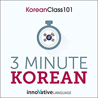 3-Minute Korean cover art